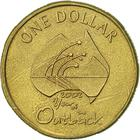Australia / One Dollar 2002 Year of the Outback - reverse photo
