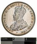 Florin 1924: Photo Proof Coin - Florin (2 Shillings), Australia, 1924