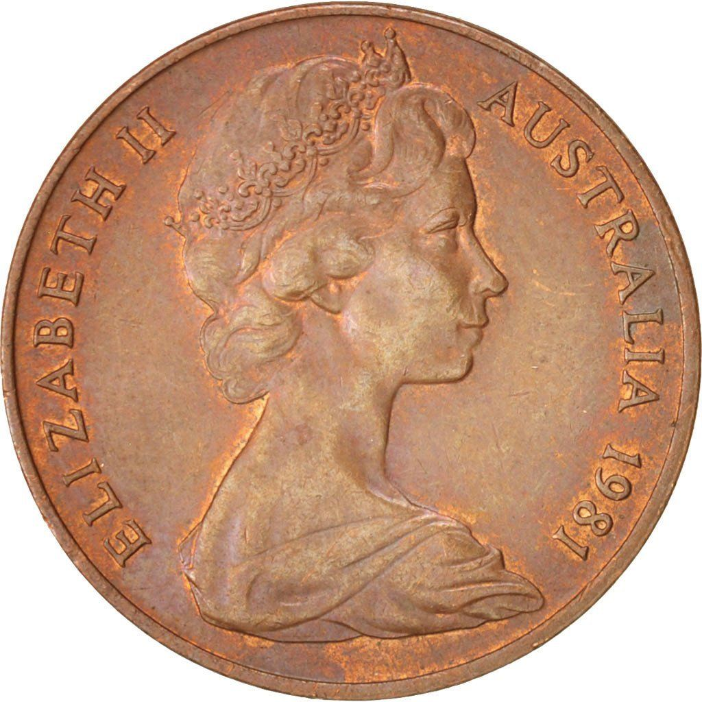 Two Cents: Photo Australia, Elizabeth II, 2 Cents, 1981
