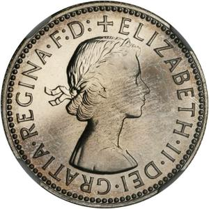 Australia / Shilling 1955 - obverse photo