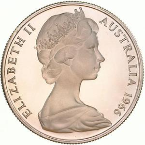 Australia / Fifty Cents 1966 (round, silver)