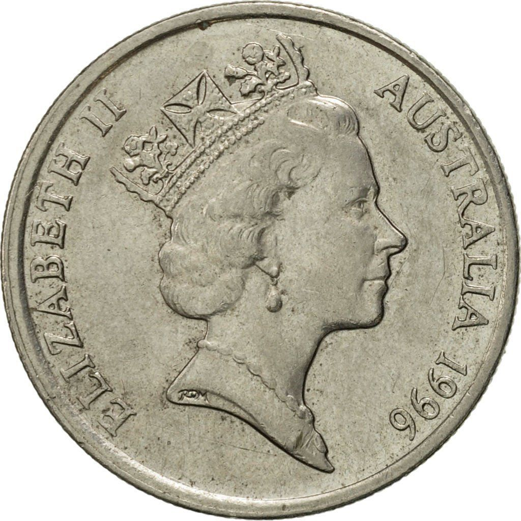 Five Cents 1996: Photo Australia, Elizabeth II, 5 Cents, 1996