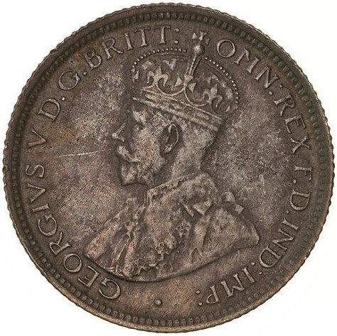 Sixpence 1912: Photo Coin - Sixpence, Australia, 1912