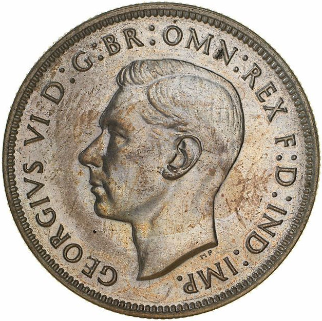 Florin 1939: Photo Proof Coin - Florin (2 Shillings), Australia, 1939