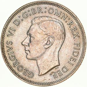Australia / Florin 1951 - obverse photo