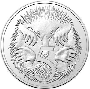 Australia / Five Cents 2012 - reverse photo