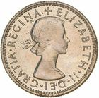 Shilling 1953: Photo Proof Coin - 1 Shilling, Specimen Strike, Australia, 1953