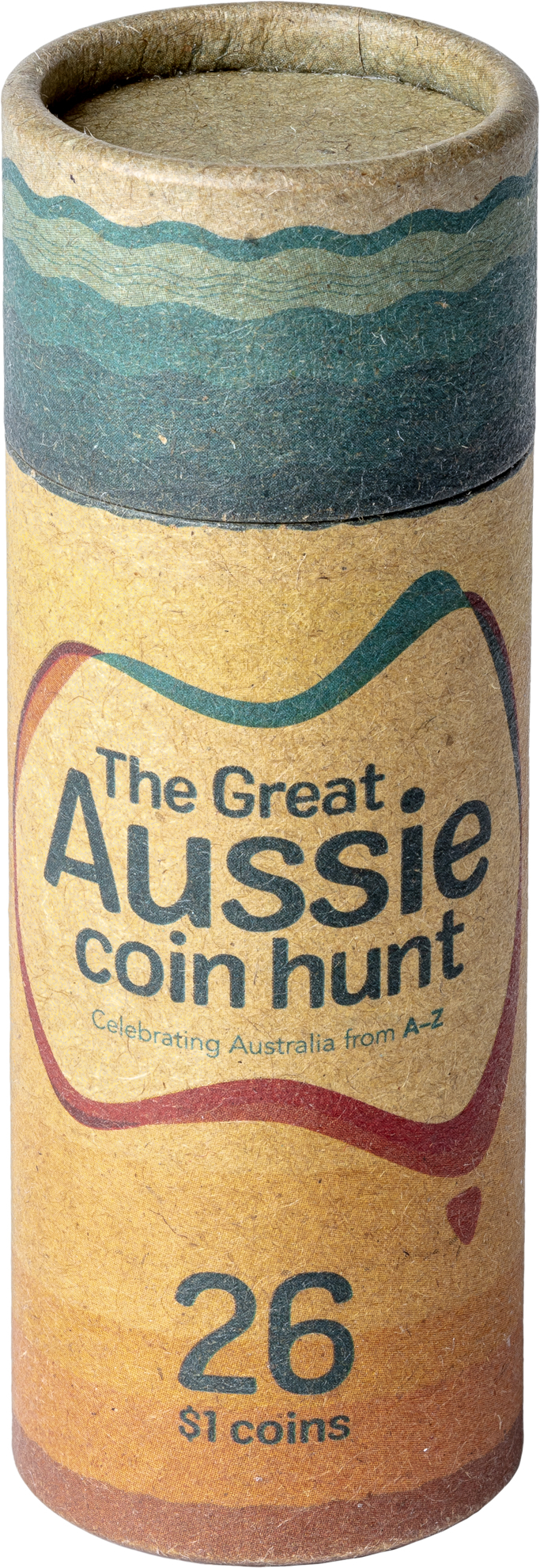 One Dollar 2019 A - Australia Post: Photo Great Aussie Coin Hunt - Collection Folder with Coins