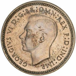 Australia / Threepence 1947 - obverse photo