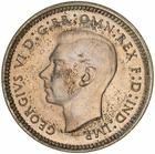 Threepence 1947: Photo Specimen Coin - Threepence, Australia, 1947