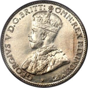 Australia / Sixpence 1934 - obverse photo