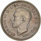 Australia / Shilling 1943 - obverse photo