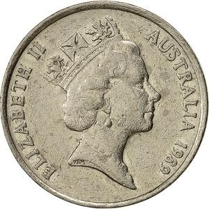 Australia / Ten Cents 1989 - obverse photo