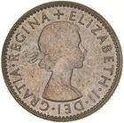 Sixpence 1954: Photo Coin - Sixpence, Australia, 1954