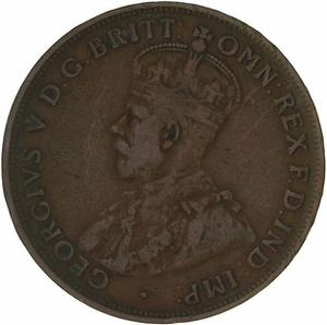 Australia / Penny 1921 - obverse photo