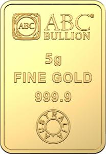 Australia / Gold Five Grams 2020 ABC Bullion - reverse photo