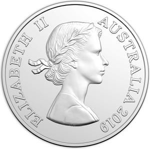 Australia / Five Cents 2019 (First Portrait) - obverse photo