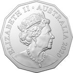 Australia / Fifty Cents 2020 / In mint sets - obverse photo