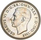 Shilling 1945 (not released): Photo Proof Coin - 1 Shilling, Australia, 1945