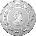 Australia / Silver Ounce 2021 Year of the Ox (RAM) - obverse photo