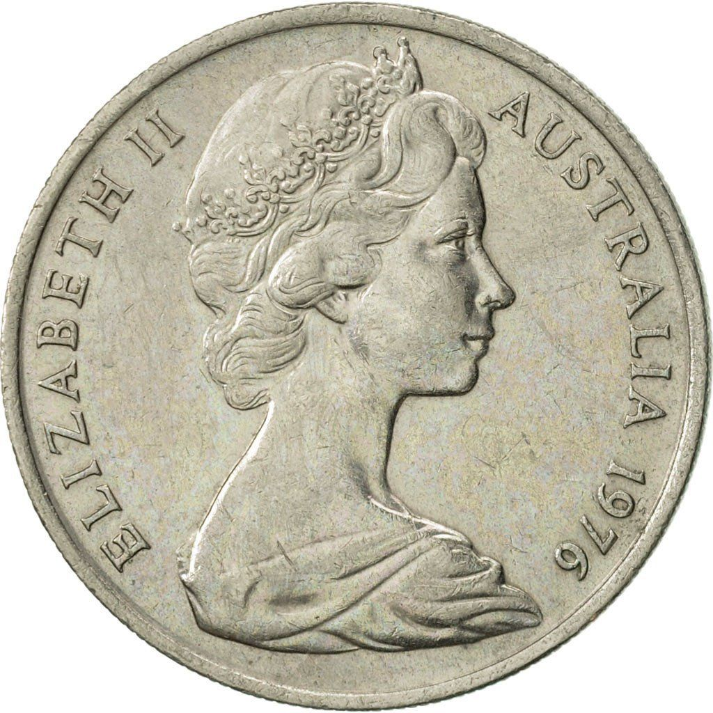 Ten Cents 1976: Photo Australia, Elizabeth II, 10 Cents, 1976
