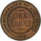 Penny 1933: Photo Proof Coin - 1 Penny, Australia, 1933