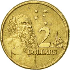 Australia / Two Dollars 2001 - reverse photo