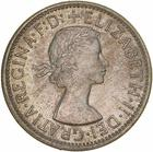 Florin 1954 Royal Visit: Photo Proof Coin - Florin (2 Shillings), Royal Visit of Queen Elizabeth II, Australia, 1954