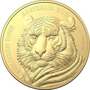 Australia / Gold Ounce 2020 Sumatran Tiger - reverse photo
