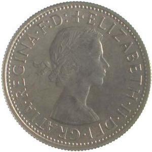 Australia / Florin 1957 - obverse photo