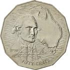 Australia / Fifty Cents 1970 James Cook - reverse photo
