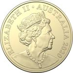 Australia / One Dollar 2020 - obverse photo