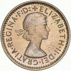 Threepence 1957: Photo Proof Coin - Threepence, Australia, 1957