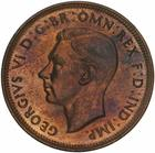 Halfpenny 1942: Photo Proof Coin - Halfpenny, Australia, 1942