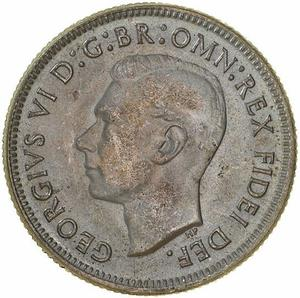 Australia / Shilling 1950 - obverse photo