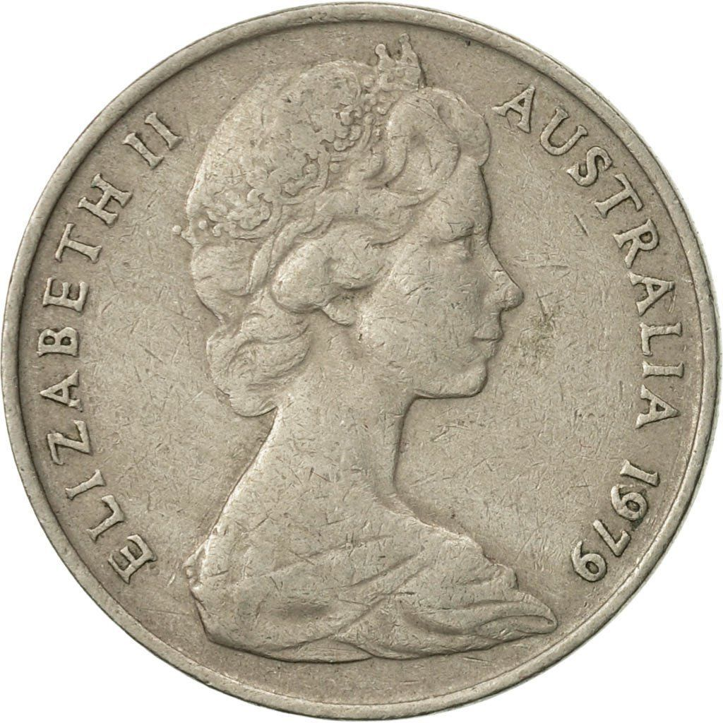 Ten Cents 1979: Photo Australia, Elizabeth II, 10 Cents, 1979