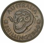 Shilling 1944: Photo Coin - 1 Shilling, Australia, 1944