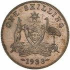 Shilling 1933: Photo Proof Coin - 1 Shilling, Specimen Strike, Australia, 1933