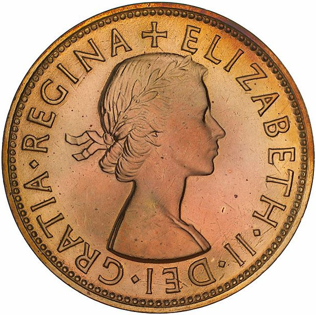 Penny: Photo Proof Coin - 1 Penny, Australia, 1953