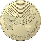 Australia / One Dollar 2019 T - Thongs - reverse photo