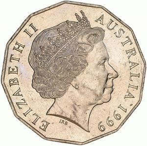 Australia / Fifty Cents 1999 - obverse photo