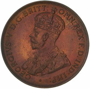 Australia / Penny 1924 - obverse photo