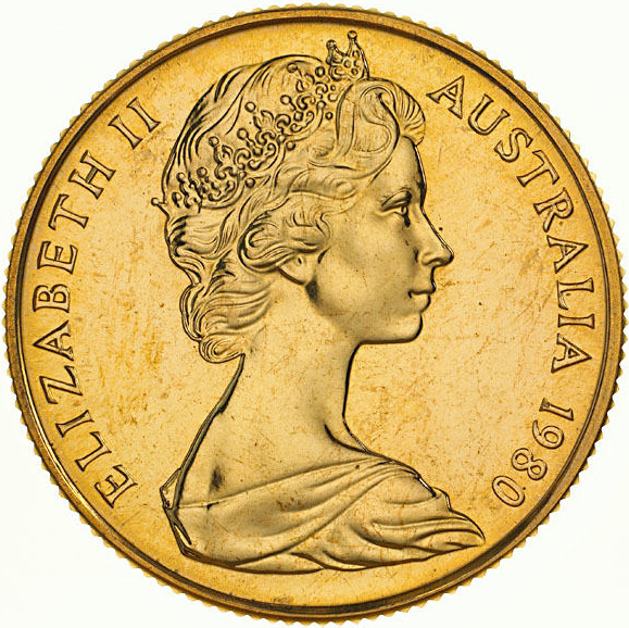 Two Hundred Dollars 1980: Photo Coin - 200 Dollars, Uncirculated, Australia, 1980