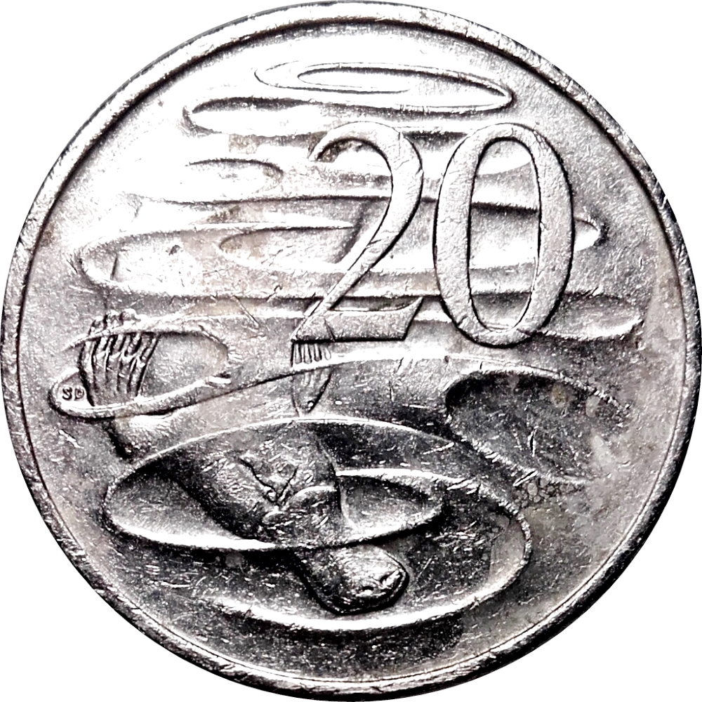 Twenty Cents 2014: Photo Australia 20 Cents 2014