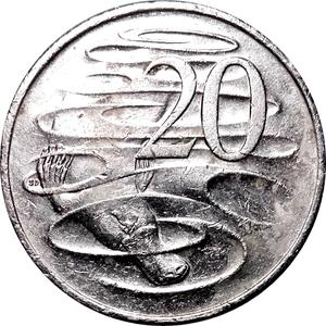 Australia / Twenty Cents 2014 - reverse photo