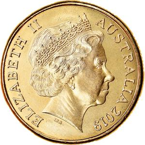 Australia / One Dollar 2019 M - Meat Pie - obverse photo