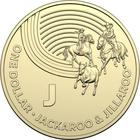 Australia / One Dollar 2019 J - Jackaroo and Jillaroo - reverse photo