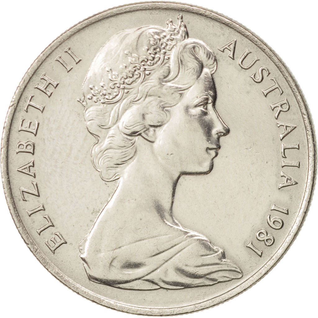 Ten Cents, Coin Type from Australia - Online Coin Club