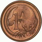 Australia / One Cent 1968 - reverse photo
