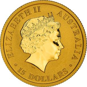 Australia / Gold Tenth Ounce 2016 - obverse photo